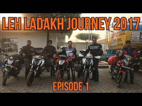 Leh Ladakh Journey 2017 | Episode 1 Kolkata - Delhi