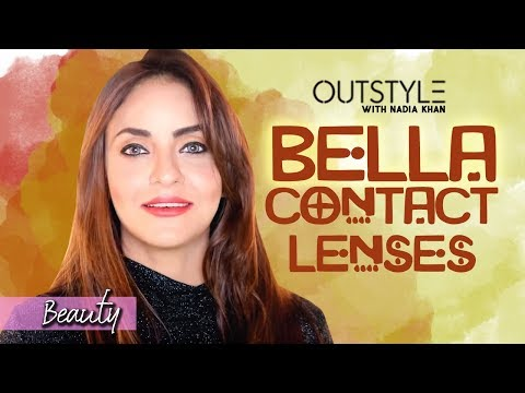 How To Choose Good Contact Eye Lenses | Thin And Soft Eye Bella Lenses | Outstyle