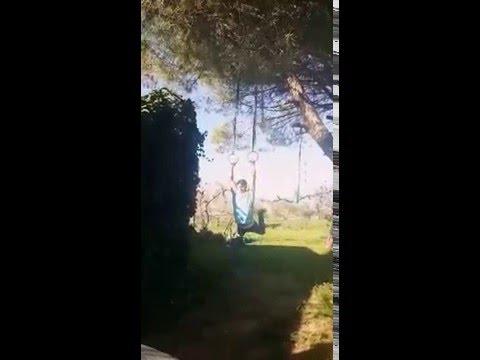 Ring Muscle Up / Garden Workout  / Outdoor Functional Training / Gymnastics / Homemade backyard