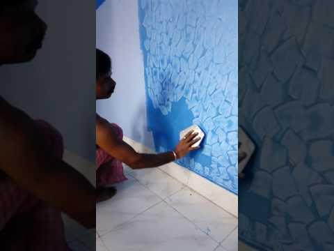 Asian texture paint spatula