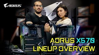AORUS X570 Complete Lineup Overview: Choosing the Right X570 Motherboard