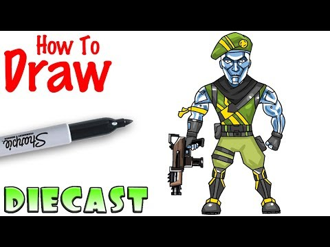 How to Draw Diecast | Fortnite