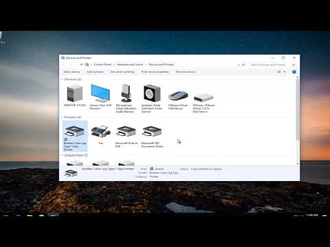 How To Share A Printer On Network -  Windows 10/8/7