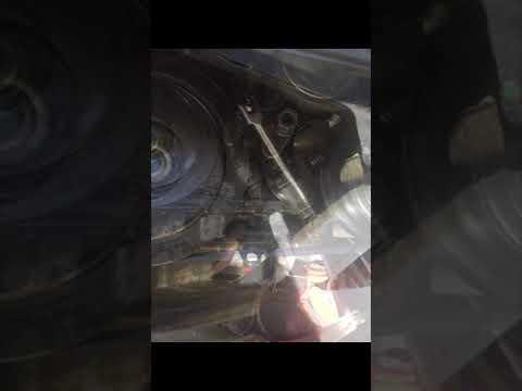 2005 Honda Odyssey Serpentine Belt Install Trick