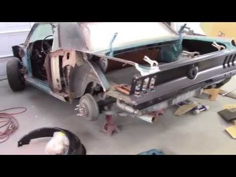 1968 Mustang outer wheel house.