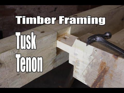 Timber Framing Tusk Tenon
