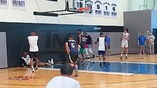 DeMarcus Cousins ACL Injury Video During Practice!