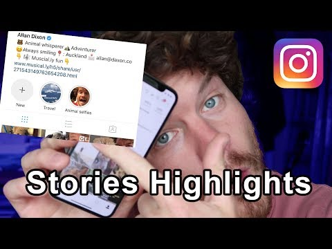 Instagram Stories Highlights - How To Tutorial (New Feature)
