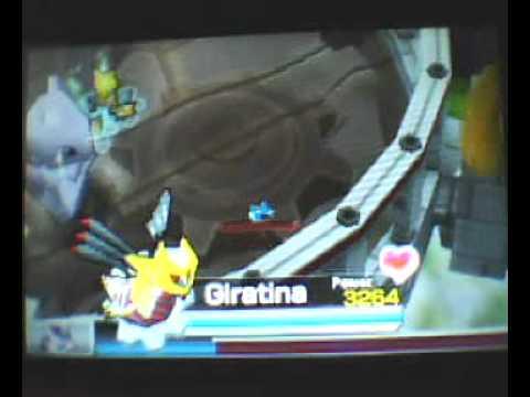 Pokemon Rumble Blast - Mewtwo Boss