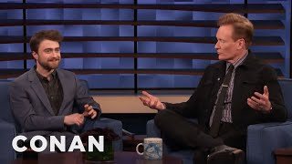 Daniel Radcliffe Teaches Conan A Colorful British Expression - CONAN on TBS