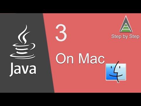 Java Beginner Tutorial 3 - How to install or update JAVA on Mac