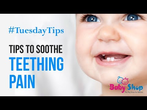 Tips To Soothe Teething Pain