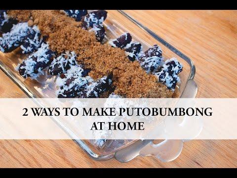 How to make putobumbong, 2 ways