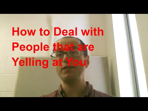 How to deal with people that are yelling and screaming at you: New Superheroes