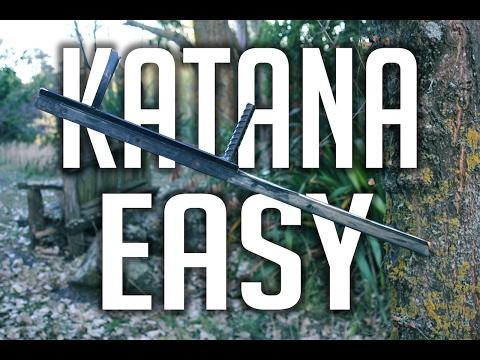 HOW TO MAKE A KATANA // EASY
