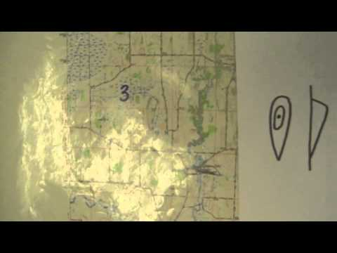 Recognizing Features on a Topographic Map