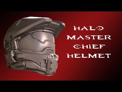 Halo Master Chief Helmet Teaser | READY FOR MOLDING!!!