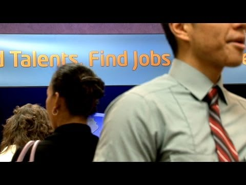 Looking for work in California's new jobs reality