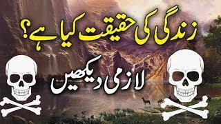 Zindagi Ki Haqeeqat Kya Hai? ( Reality Of Life ) urdu stories ! islamic stories