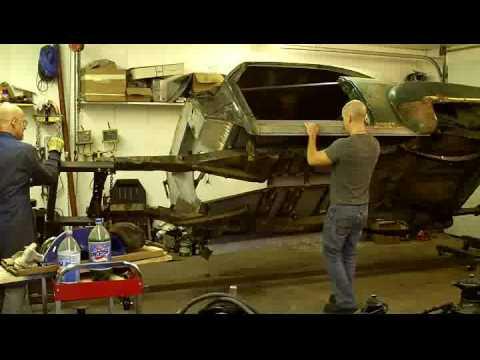 Dad's car rotisserie