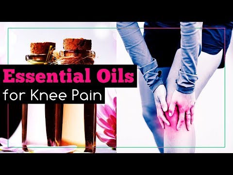 Essential Oils for Knee Pain Relief
