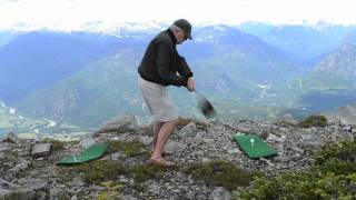 Golfing off of Mt. Currie