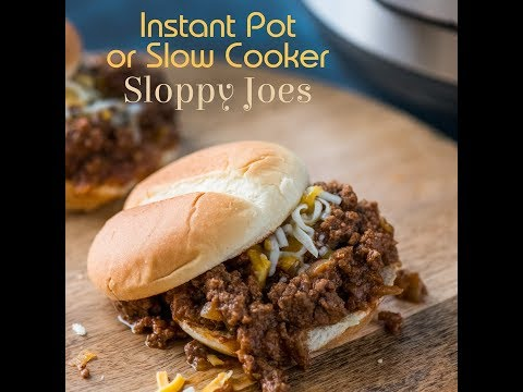 Instant Pot Sloppy Joes - Time to feed the Beast!