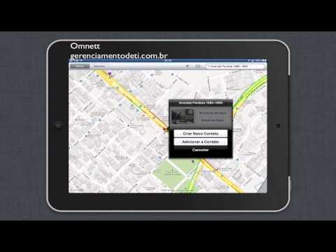 iPad - 3 dicas sobre app Mapas - Street View - Enviar Mapas - Adicionar a Contatos
