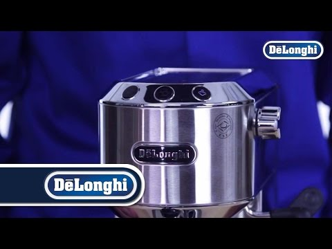 De'Longhi Dedica, EC680: Adjusting The Water Temperature
