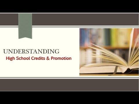 GA High School Credits & Promotion