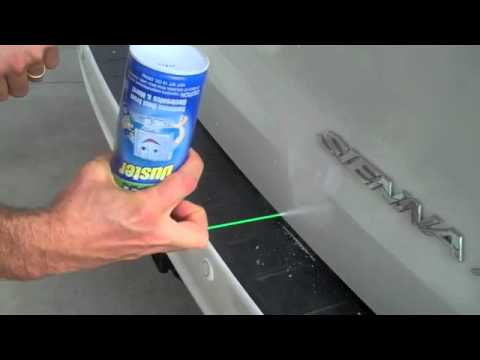 How to fix a small dent