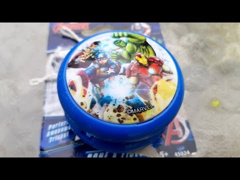 Avenger Infinity War Dollar Store YoYo unboxing and Review.