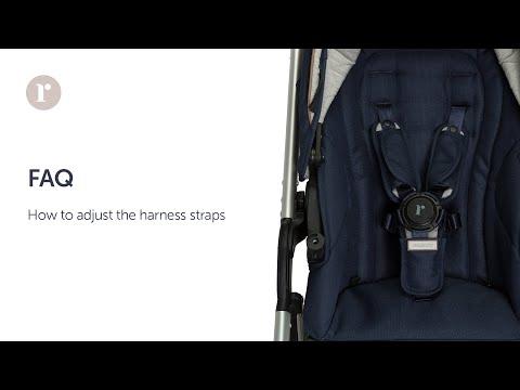 FAQ. How do you adjust the harness straps? Redsbaby JIVE² / METRO² Prams.