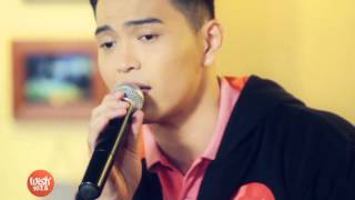 """Daryl Ong sings """"Stay"""" (On The Wings of Love OST) on Wish 107.5 TV"""