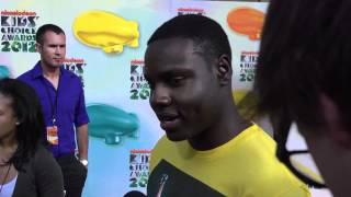 Dayo Okeniyi Interview - 2012 Kids' Choice Awards