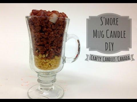 Smore candle DIY | Crafty Candles Canada