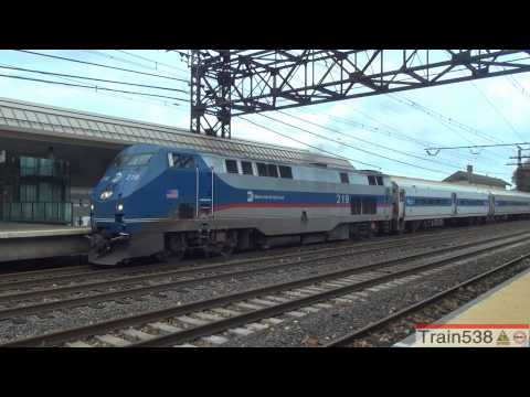 [HD] MNRR's Post-Hurricane Sandy New Haven Line Inspection Train at Westport - 10/30/2012