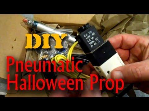 Homemade Pneumatic Halloween Prop - Part #1