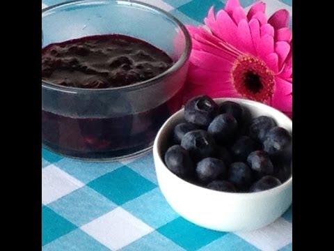 Easy Blueberry Sauce Recipe