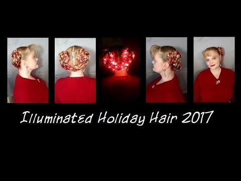 Illuminated Holiday Hair 2017