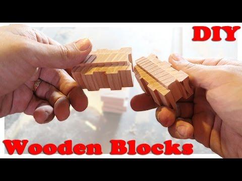Making Interlocking Wooden Toy Blocks | Part 1