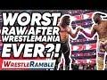 WORST WWE Raw After WrestleMania Ever?! WWE Raw, April 8, 2019 | WrestleTalk's WrestleRamble