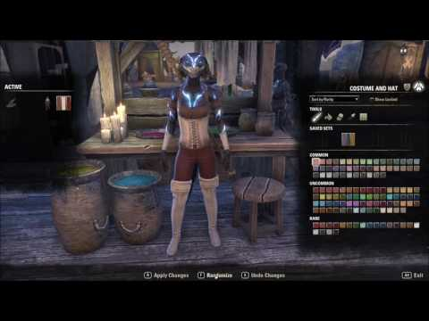 ESO PTS Update 11 v2 5 0 Costume Dyeing