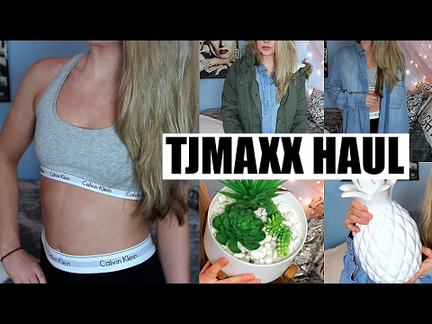 TRY ON Haul & Homeware Haul | TJ Maxx Haul