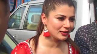 Watch #KainaatArora on location| interaction |Come back in Special Item song movie #Tishnagi|