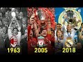 UEFA Champions League Winners 1956 - 2018 ⚽ Footchampion