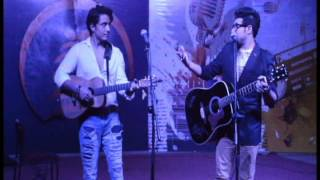 Nabeel Shaukat and Ali Zafar performing live together