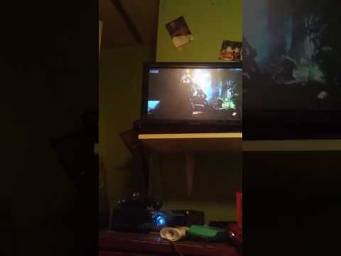 My brother playing black ops 3 on xbox 360