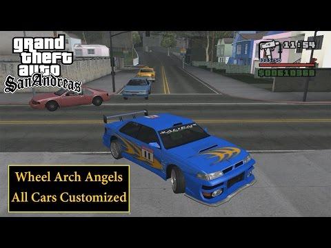 GTA San Andreas: All Wheel Arch Angels Cars