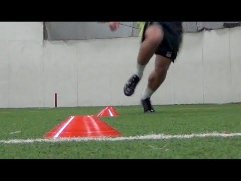 Pro Agility Drill   How To Increase your Overall Speed   5-10-5